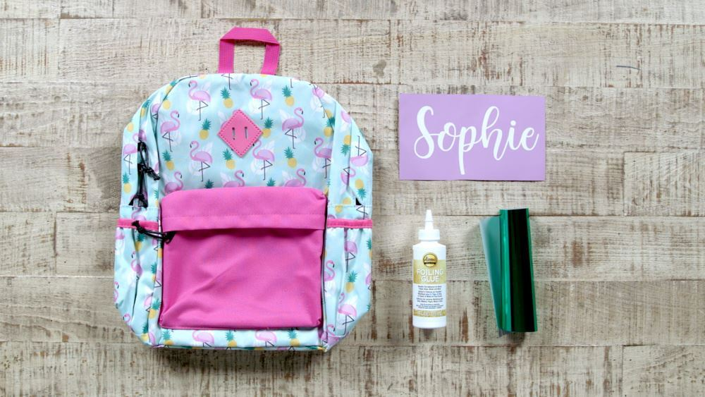 Aleene's Personalize a Backpack with Foiling Glue - supplies