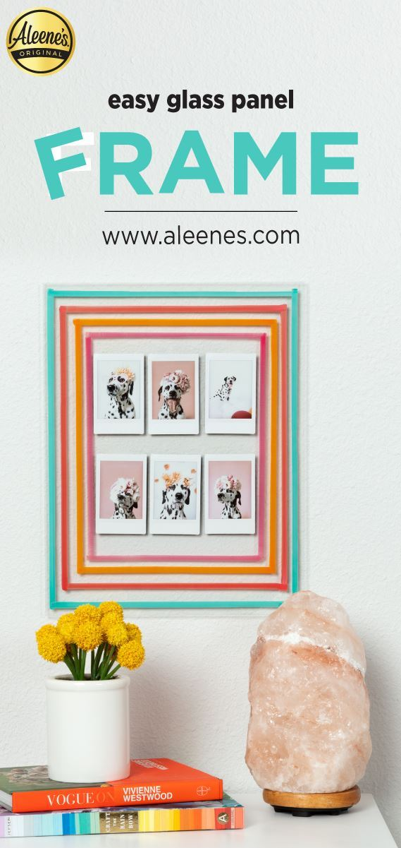 Picture of Aleene's Easy Glass Panel Photo Frame