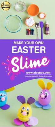 Picture of Easy Easter Craft: Pastel Fluffy Slime