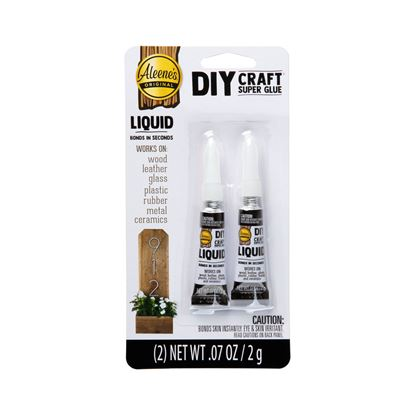 Picture of DIY Craft Super Glue Liquid 2 Pack