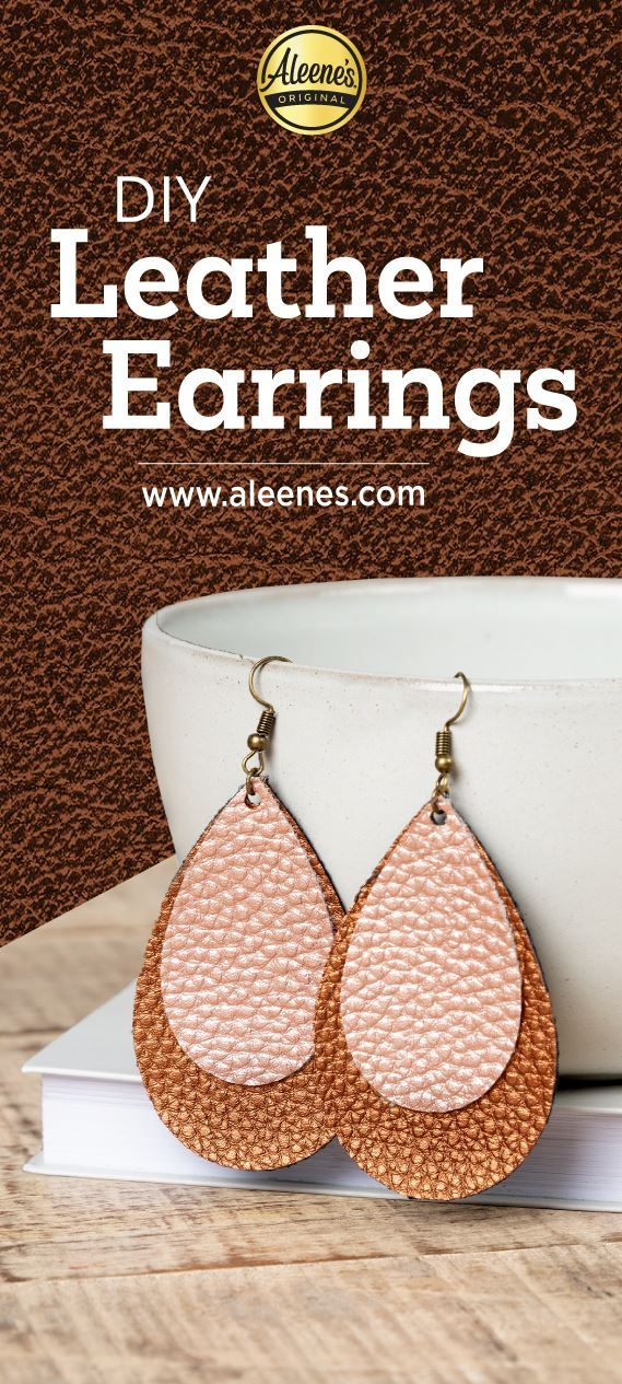Picture of Aleene's DIY Leather Earrings