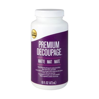 Picture of Premium Decoupage Matte 16 oz.