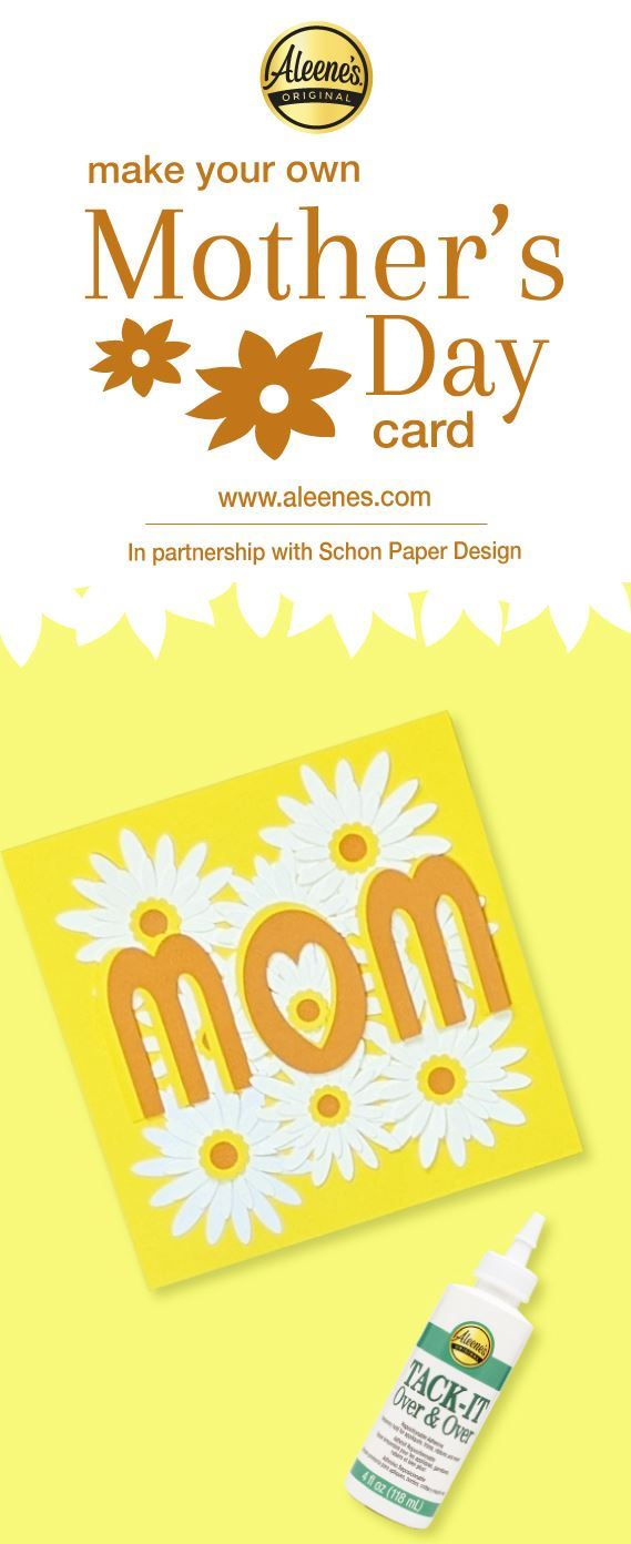 Picture of Aleene's Mother's Day Card DIY