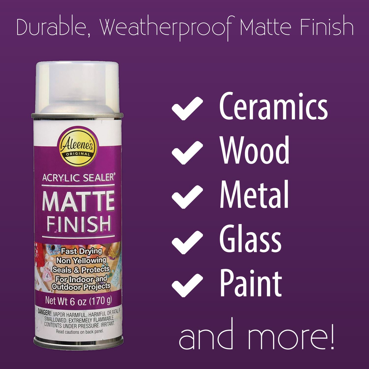 Picture of Aleene's® Spray Acrylic Sealer Matte 6 oz.