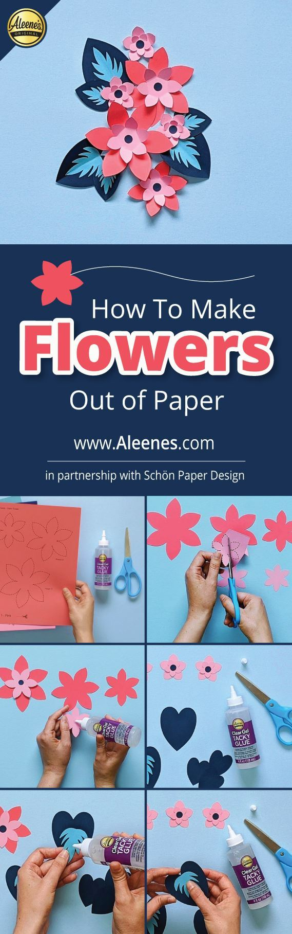 Aleene's How To Make Flowers Out of Paper