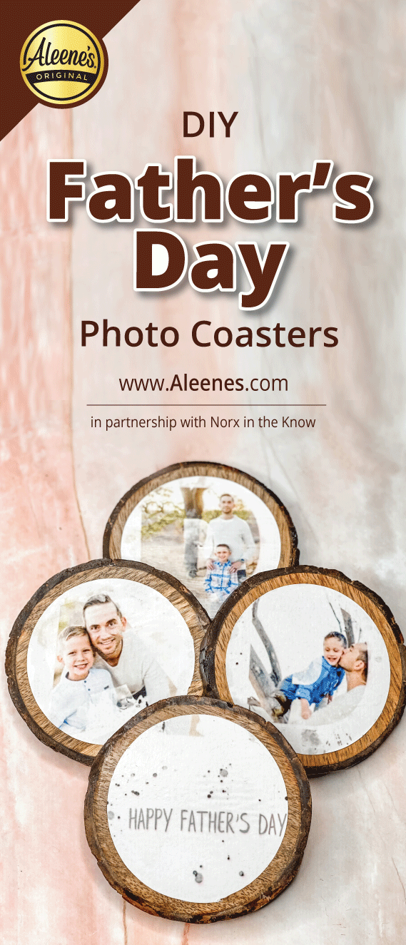 Picture of DIY Father's Day Photo Coasters