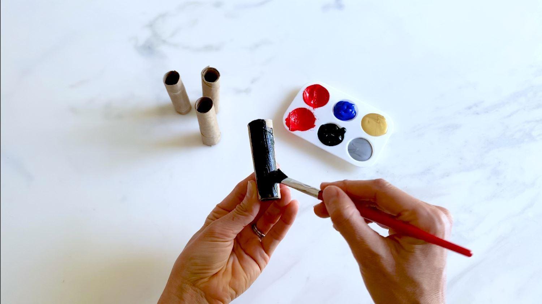 Paint thrusters black