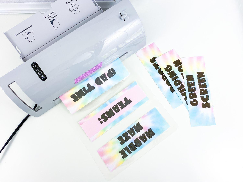 Laminate labels