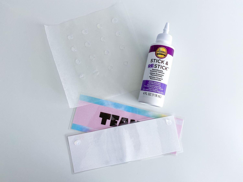 Make glue dots