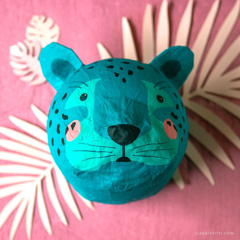 Picture of Paper Mache Leopard