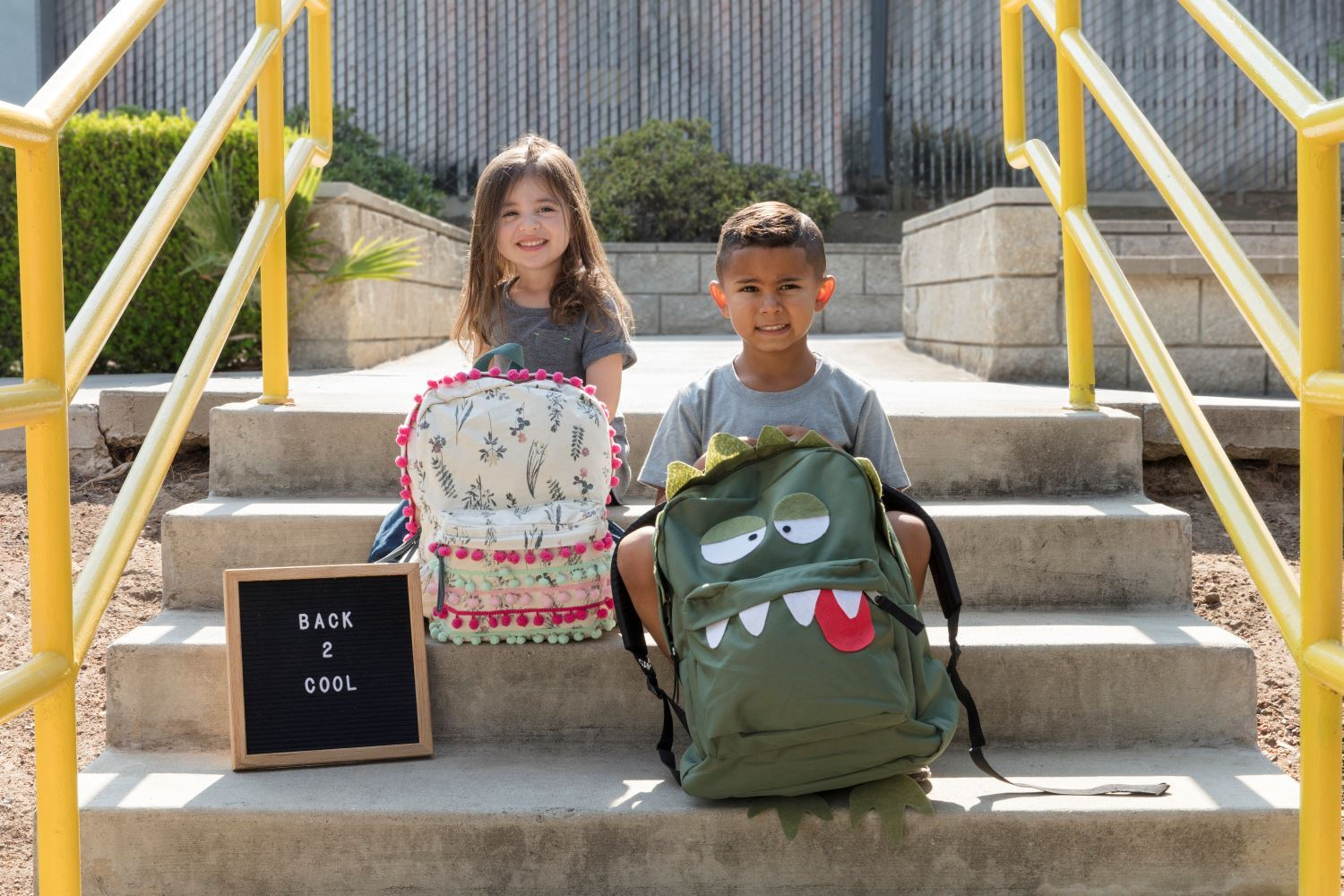 Make old backpacks new with trims, felt and Aleene's Super Fabric Adhesive