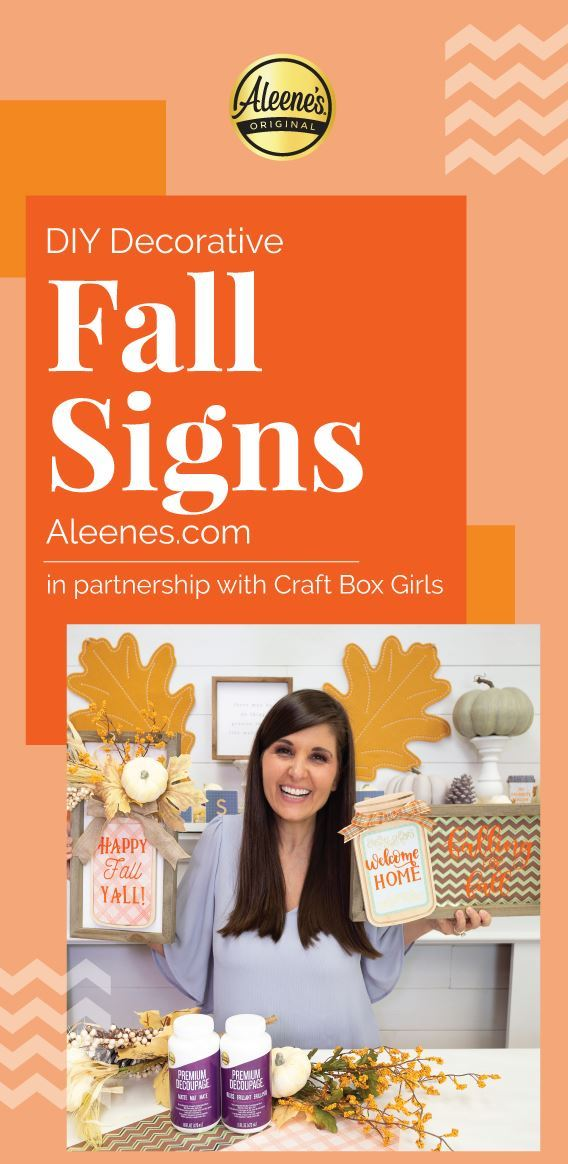 Picture of DIY Fall Décor Signs