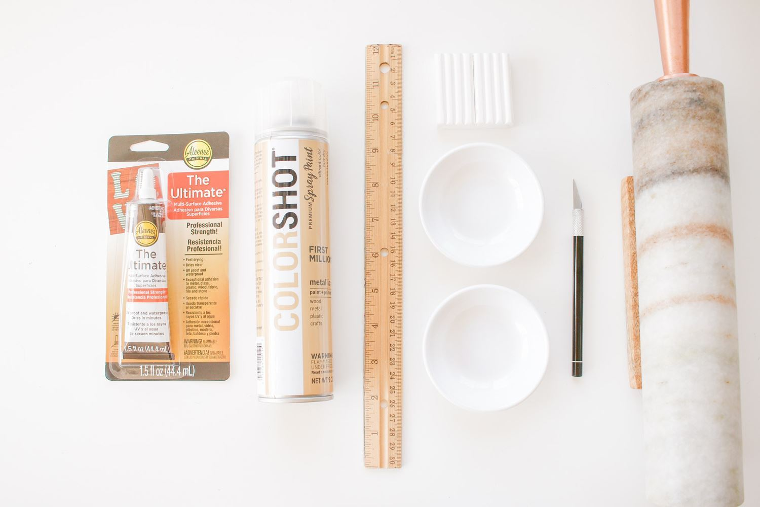 DIY ring dish supplies