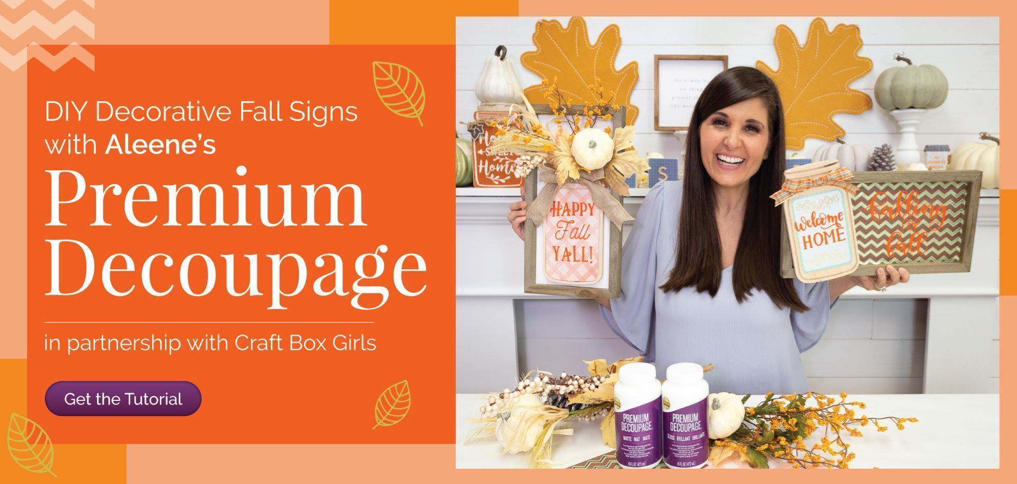 DIY Decorative Fall Signs