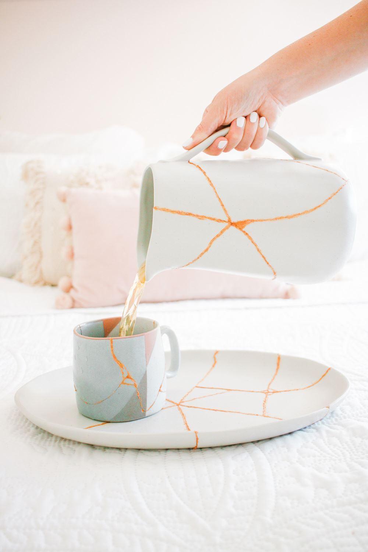 How to glue ceramics back together