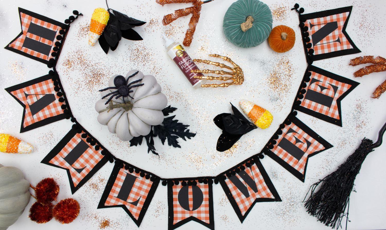 Aleene's Halloween Banner DIY