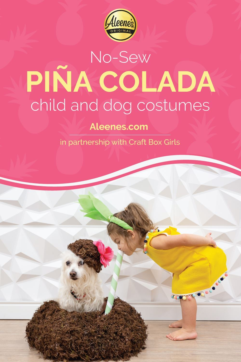 Picture of Piña Colada Child and Dog Costumes