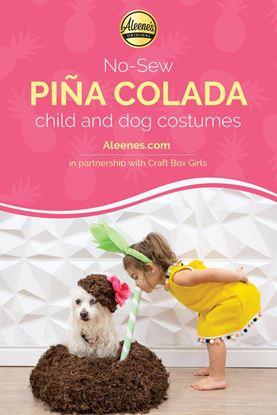 Picture of Piña Colada Child and Dog Costumes