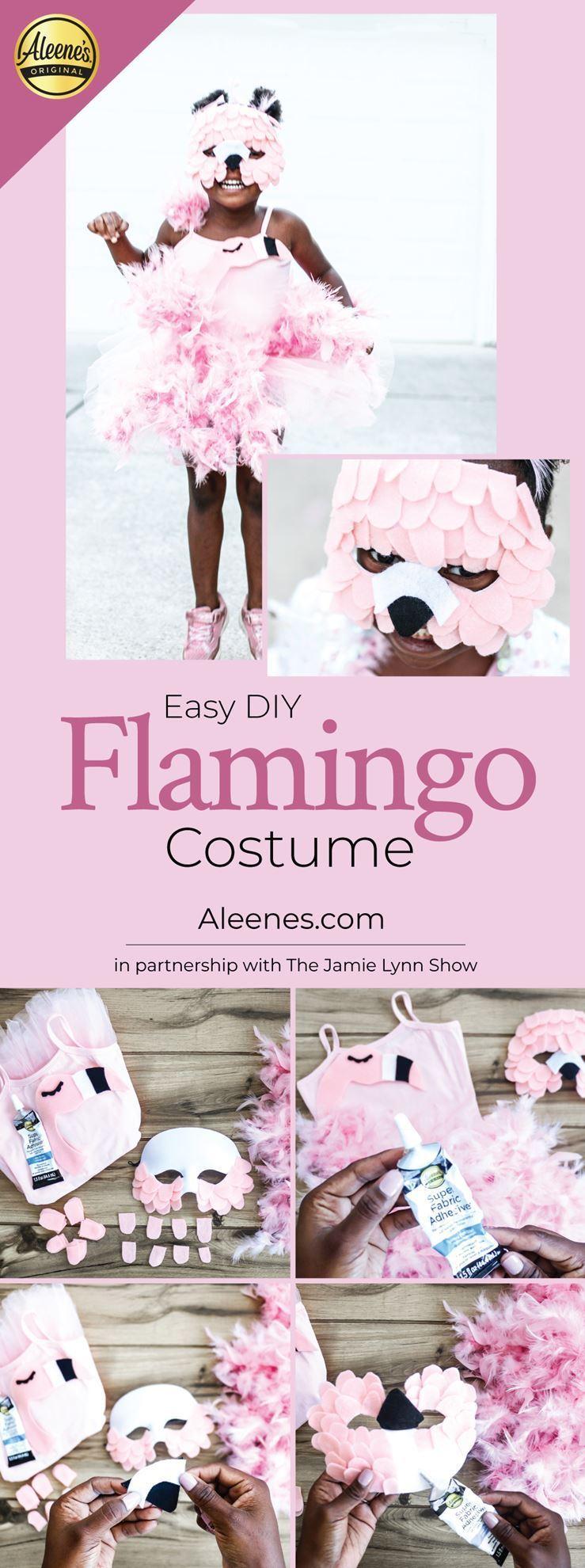 Flamingo Easy DIY Halloween Costume