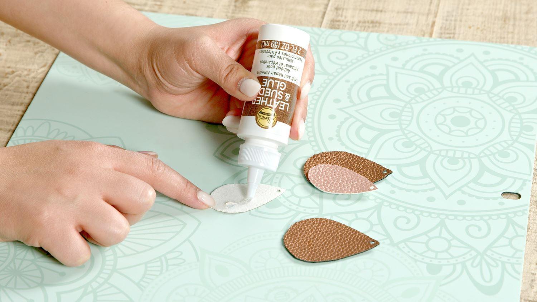 Aleene's Leather & Suede Glue Making Jewelry