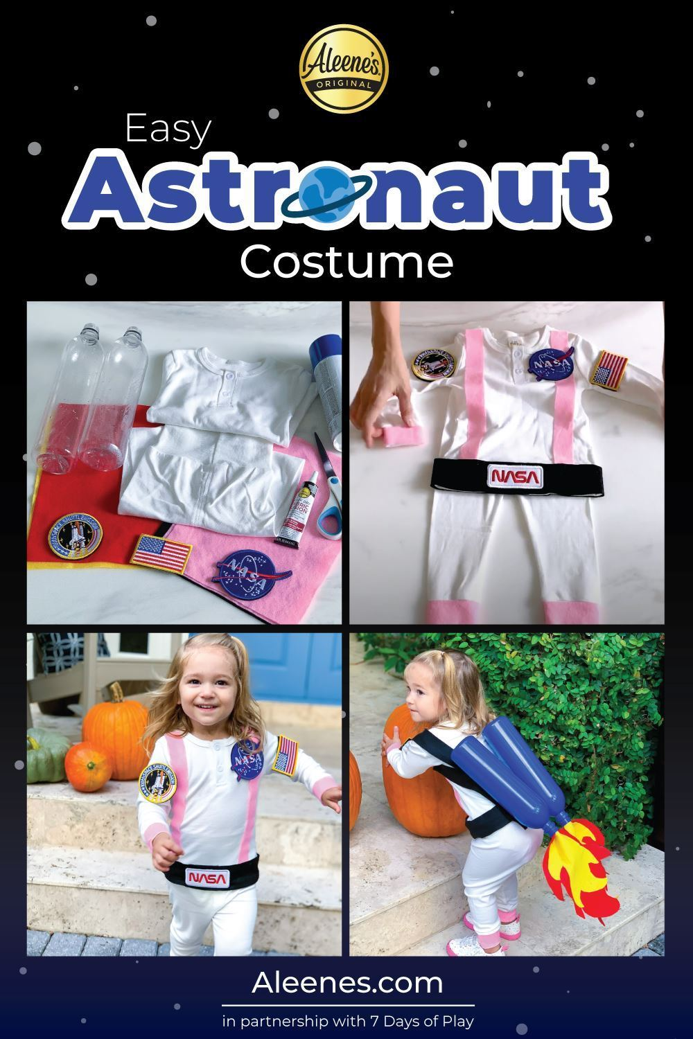 Easy Astronaut Costume