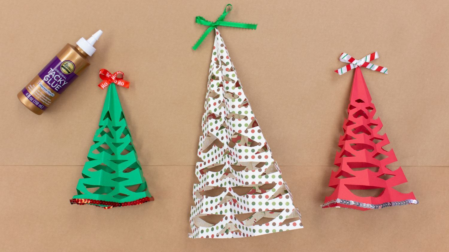 Create more paper Christmas trees