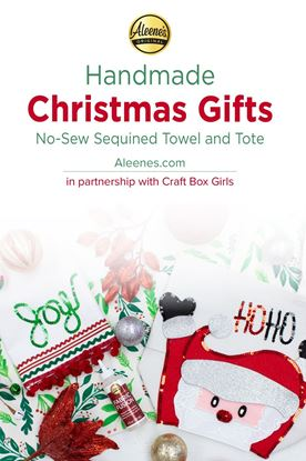 Picture of Tote and Towel Easy DIY Christmas Gifts