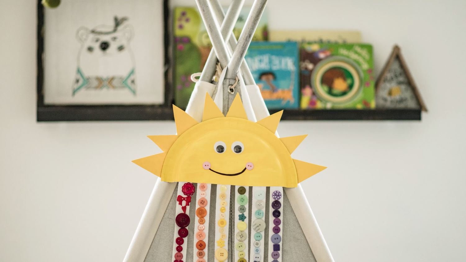 Sun and Rainbow Easy Paper Craft for Kids