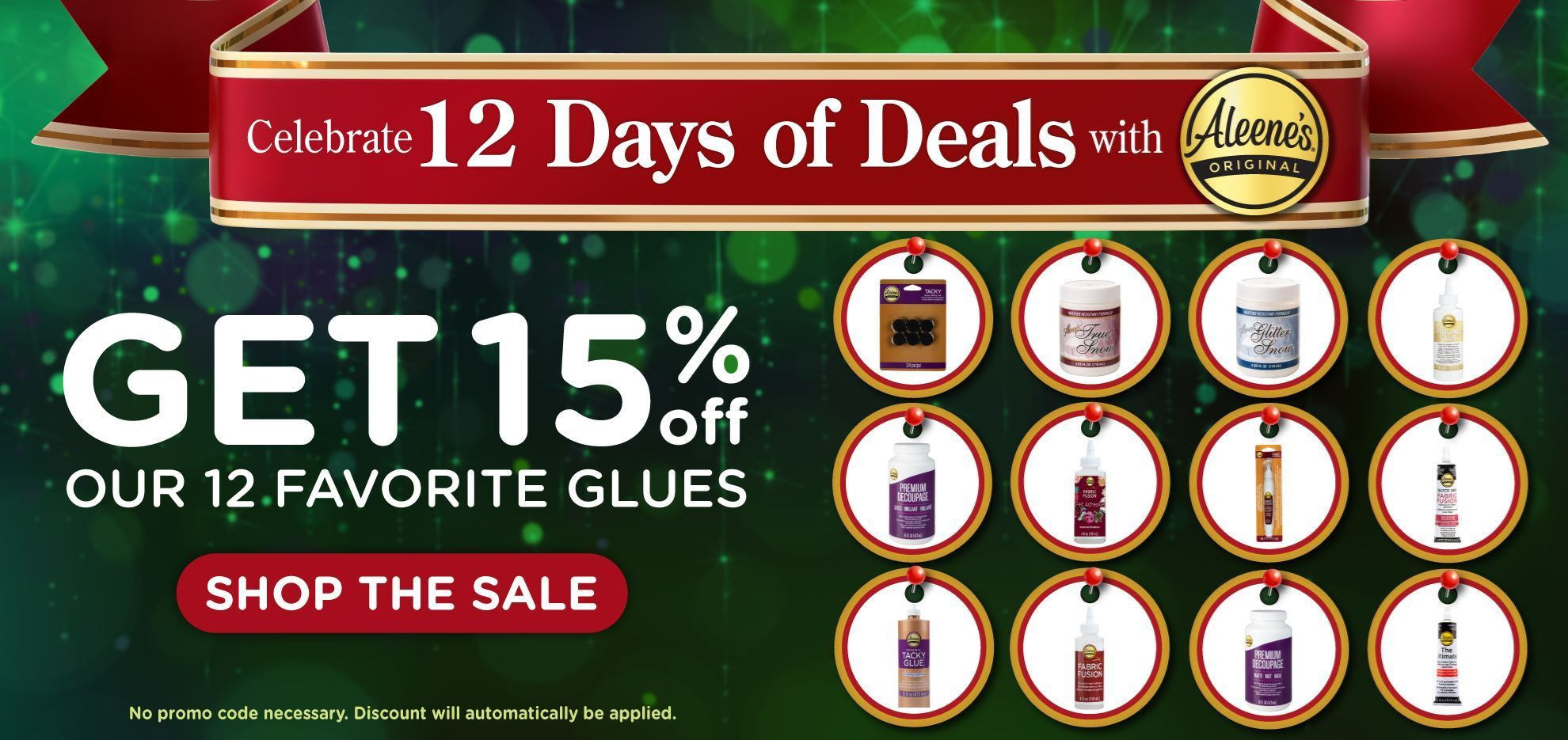 Aleene's Holiday 12 Days of Deals