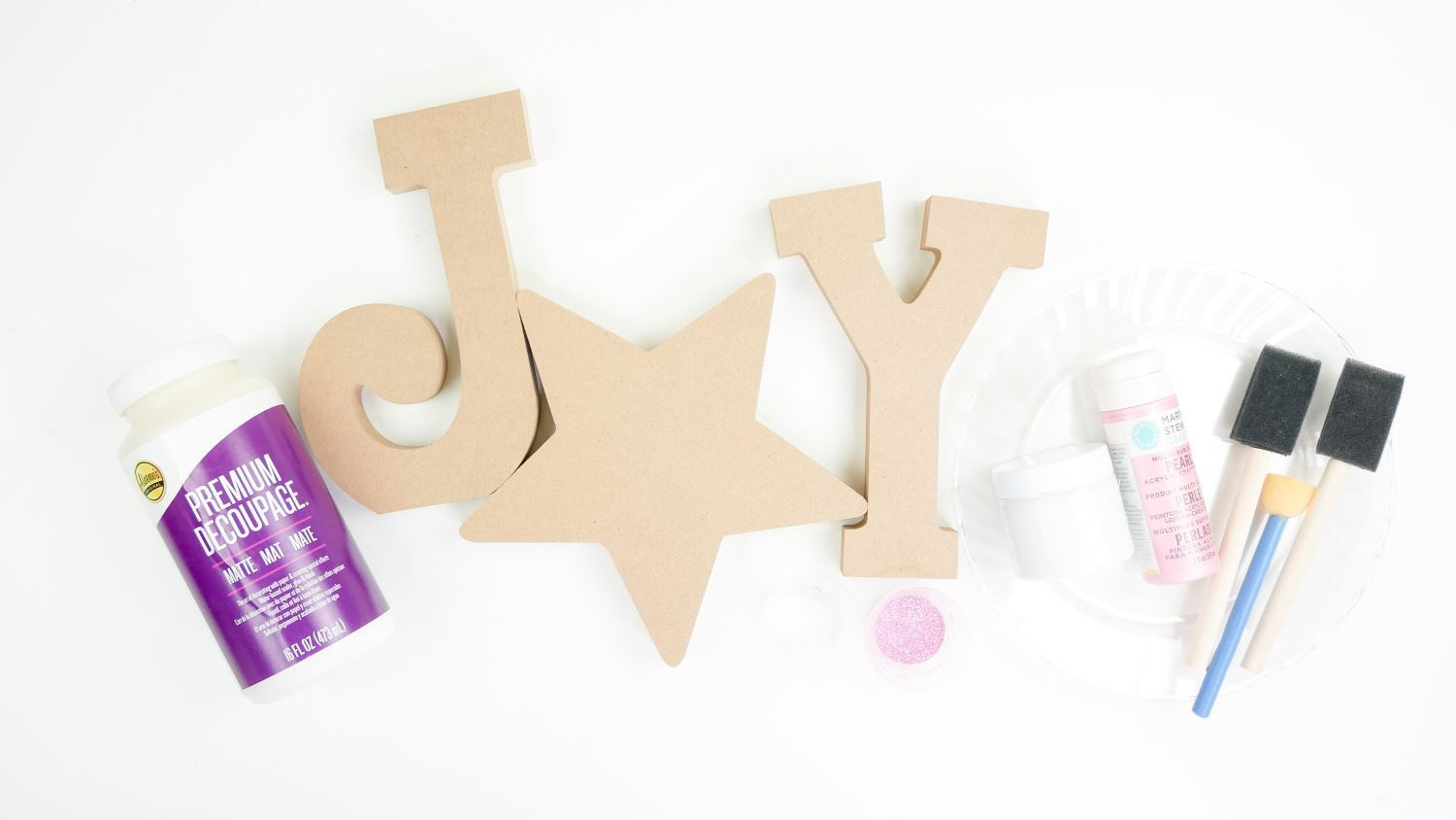 JOY sign supplies