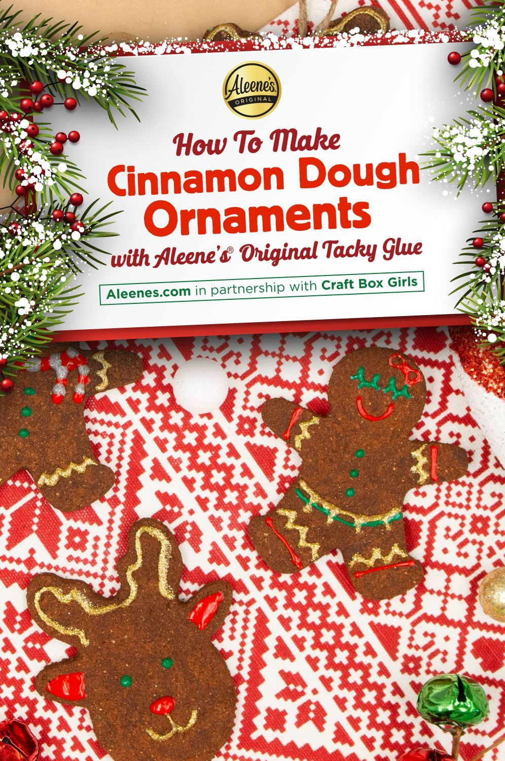 Picture of How to Make Cinnamon Dough Ornaments