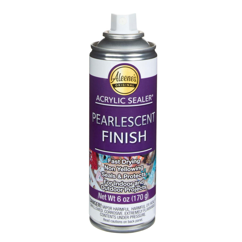 Aleene's Acrylic Sealer Pearlescent Finish 6 oz. no lid