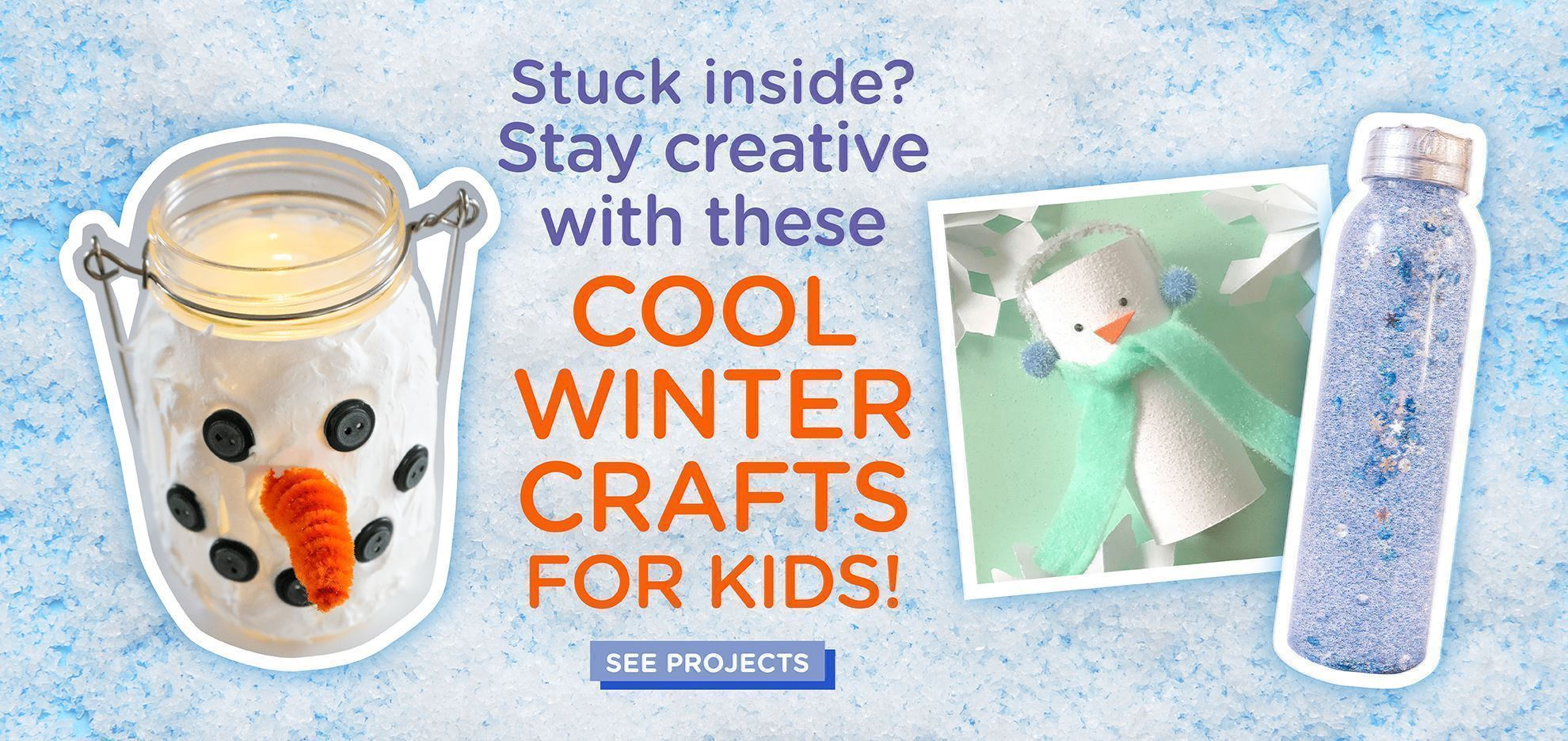 Kids Winter Crafting Project Ideas