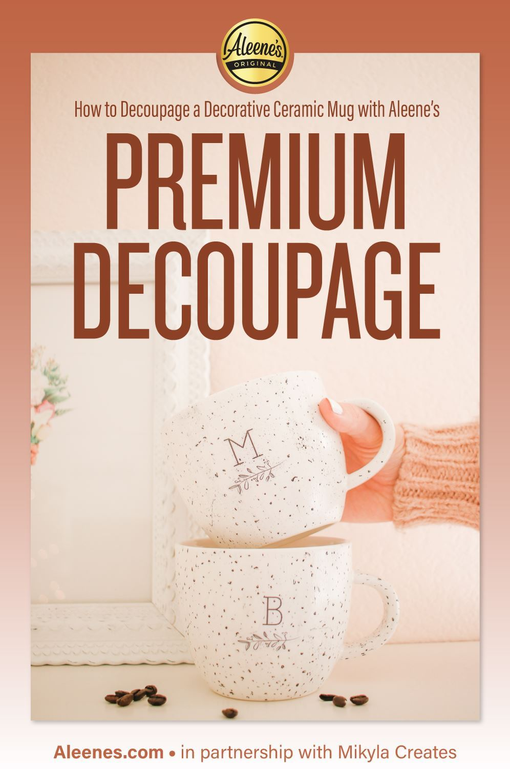 Picture of How to Decopauge a Ceramic Mug