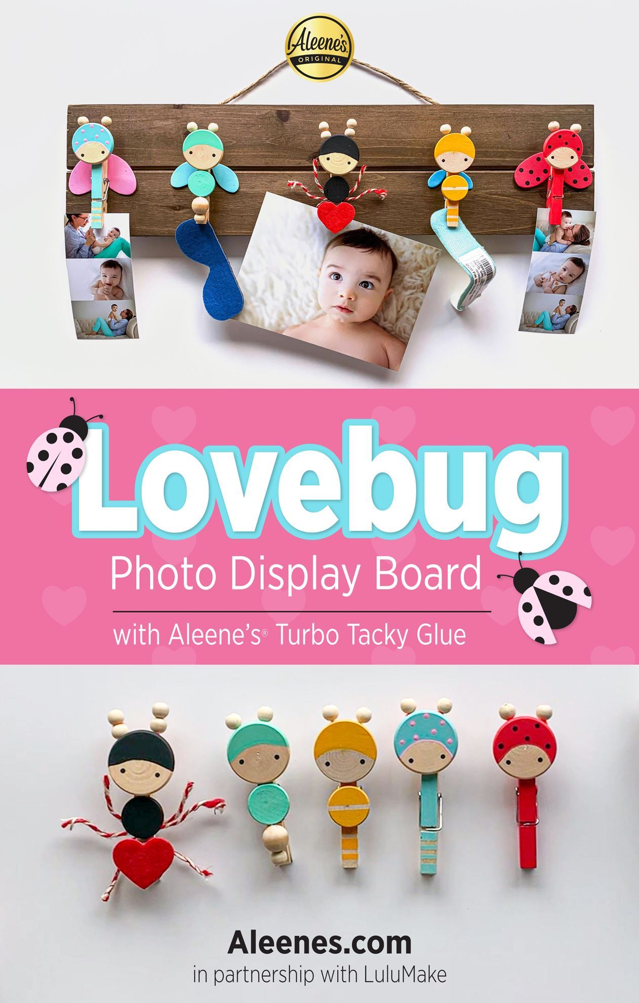 Picture of Lovebug Photo Display DIY with Aleene's Turbo Tacky