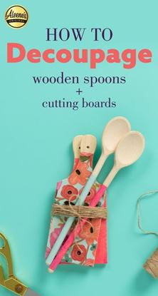 Picture of How To Decoupage Your Kitchen Accessories