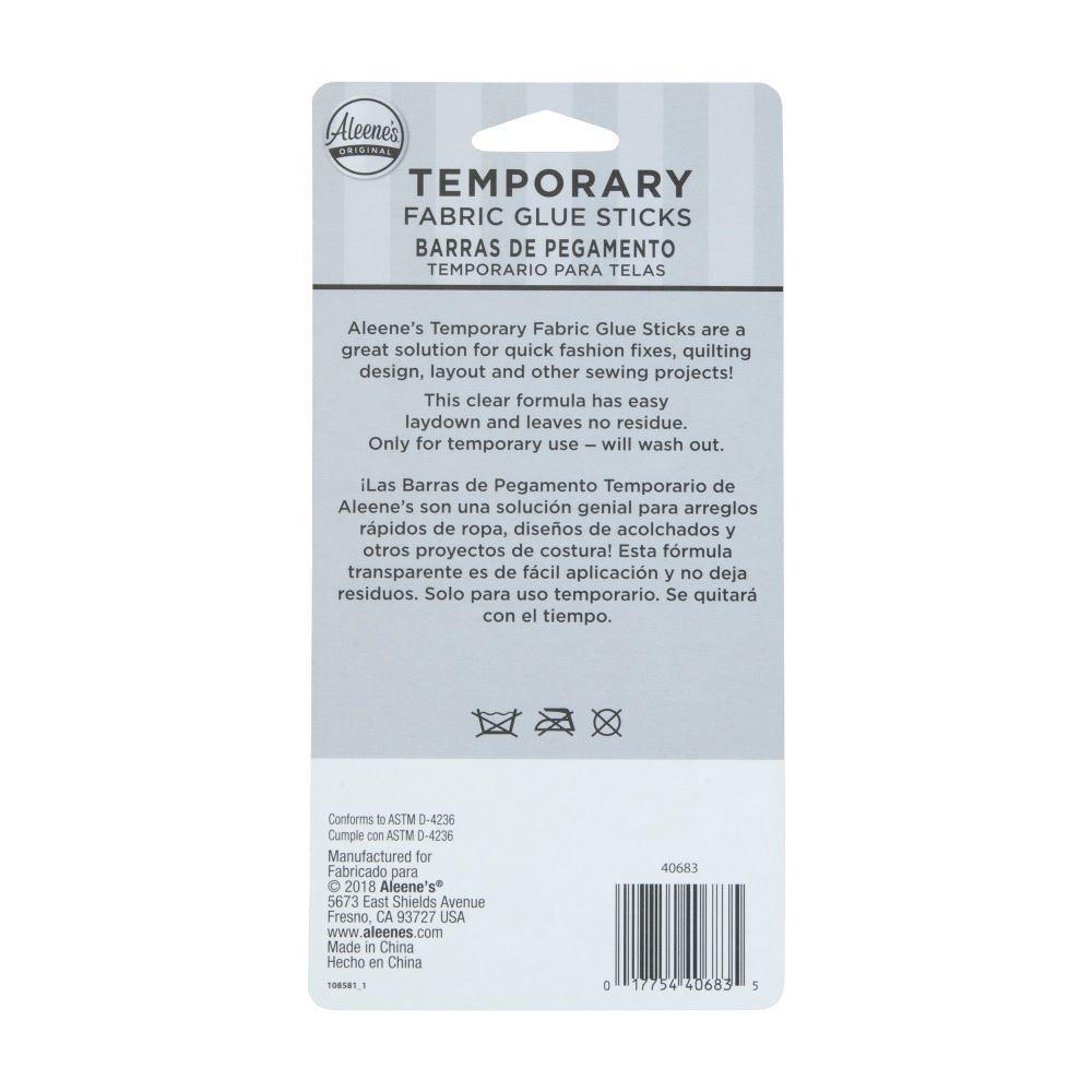 Aleene's Temporary Fabric Glue Sticks