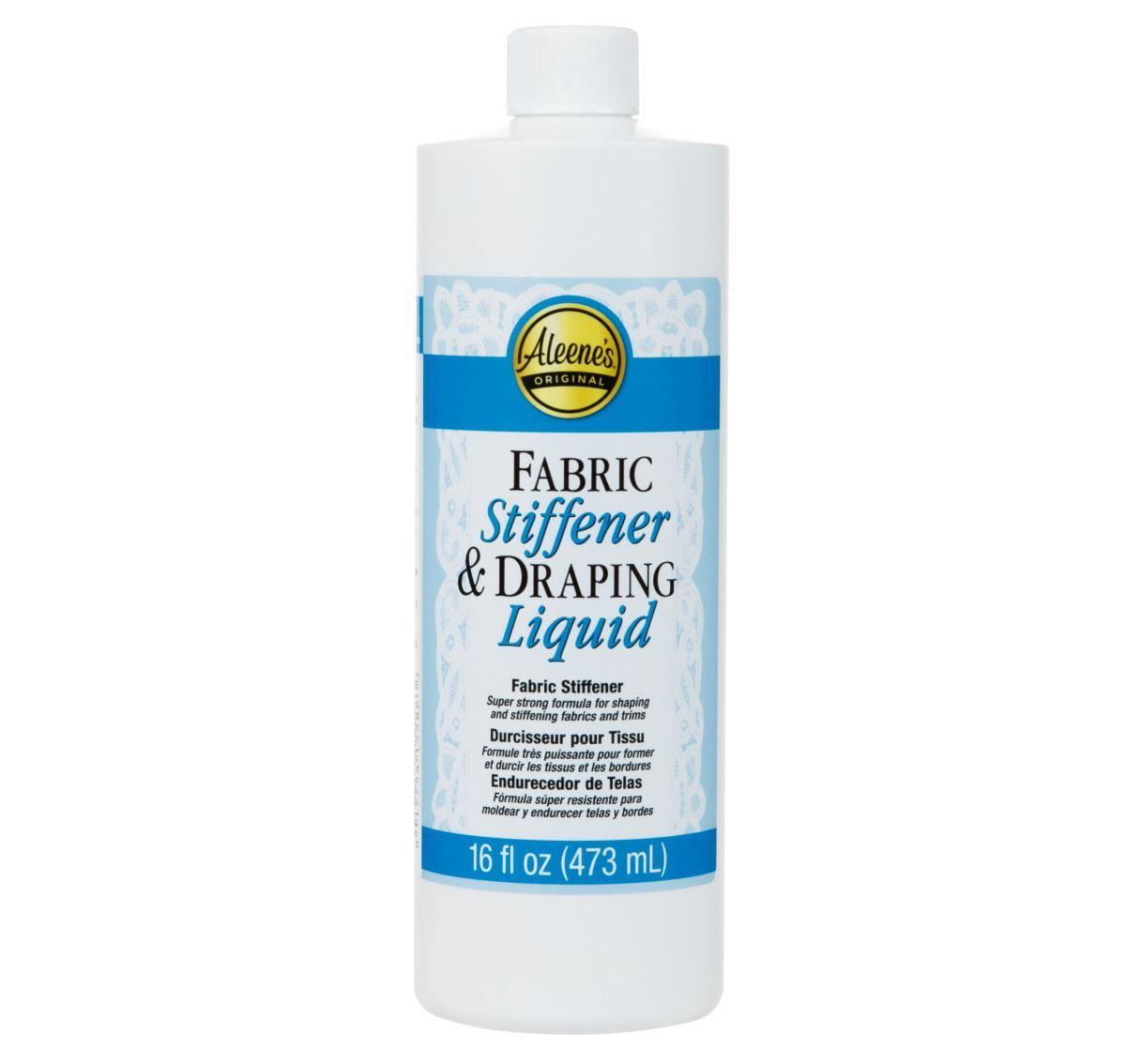 Aleene's ® Fabric Stiffener & Draping Liquid 16 oz