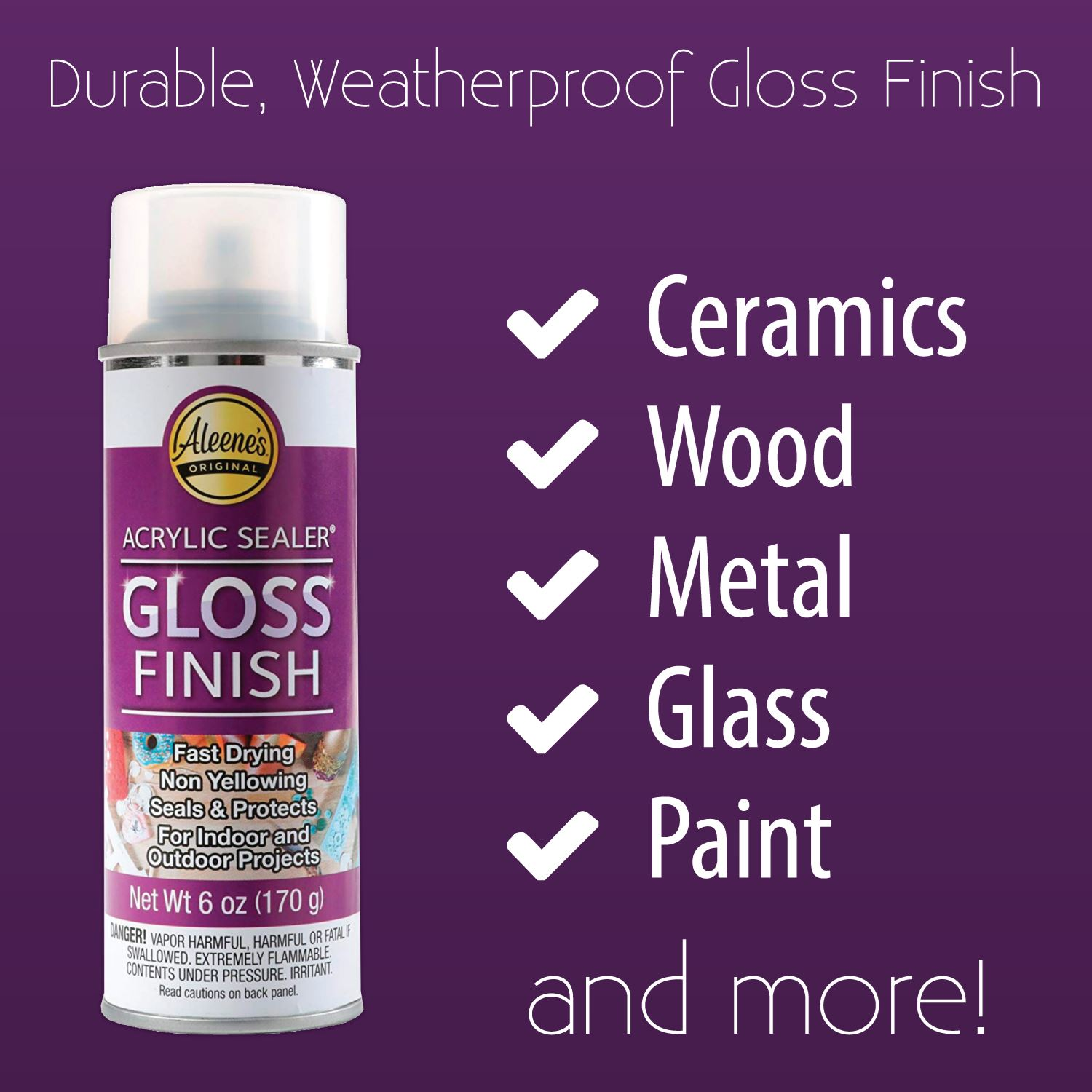 Picture of Aleene's® Spray Acrylic Sealer Gloss 6 oz.