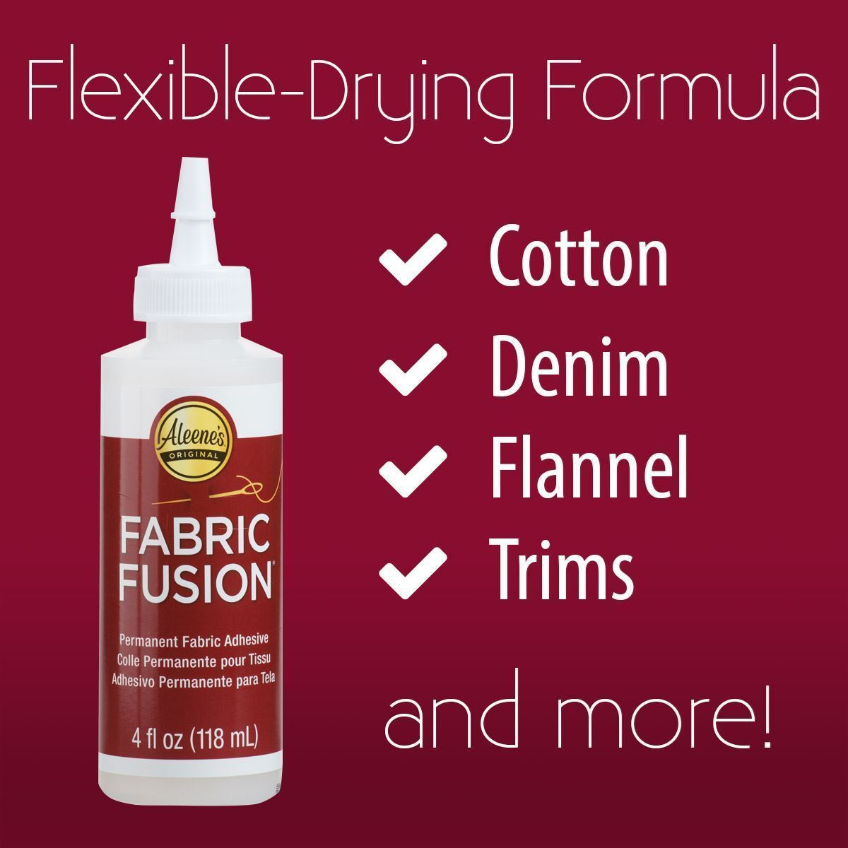 Aleene's® Fabric Fusion® Permanent Fabric Glue Pen