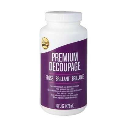Picture of Premium Decoupage Gloss 16 oz.