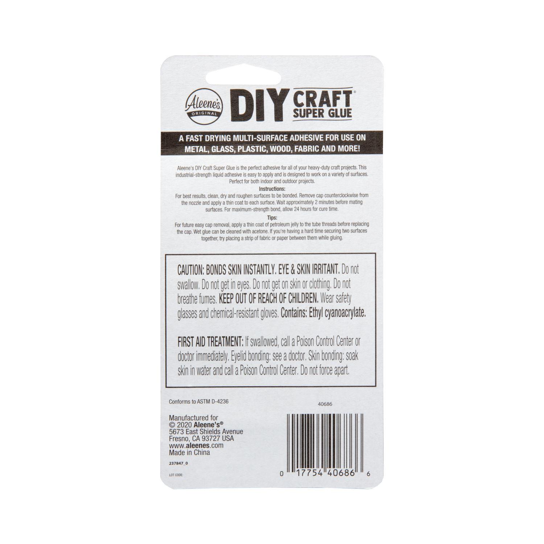Picture of DIY Craft Super Glue Liquid 2 Pack