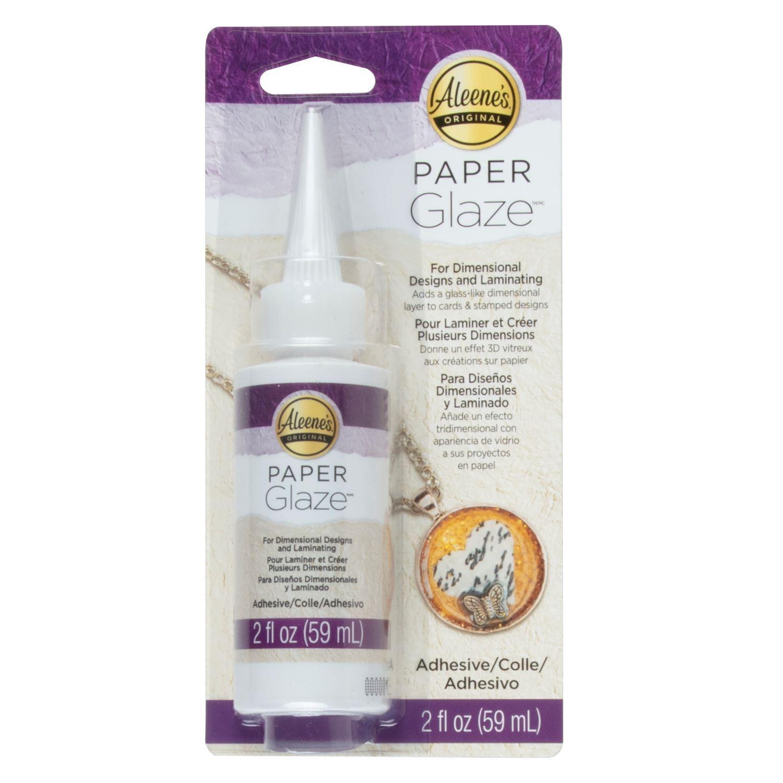 Aleene's® Paper Glaze™ inside package