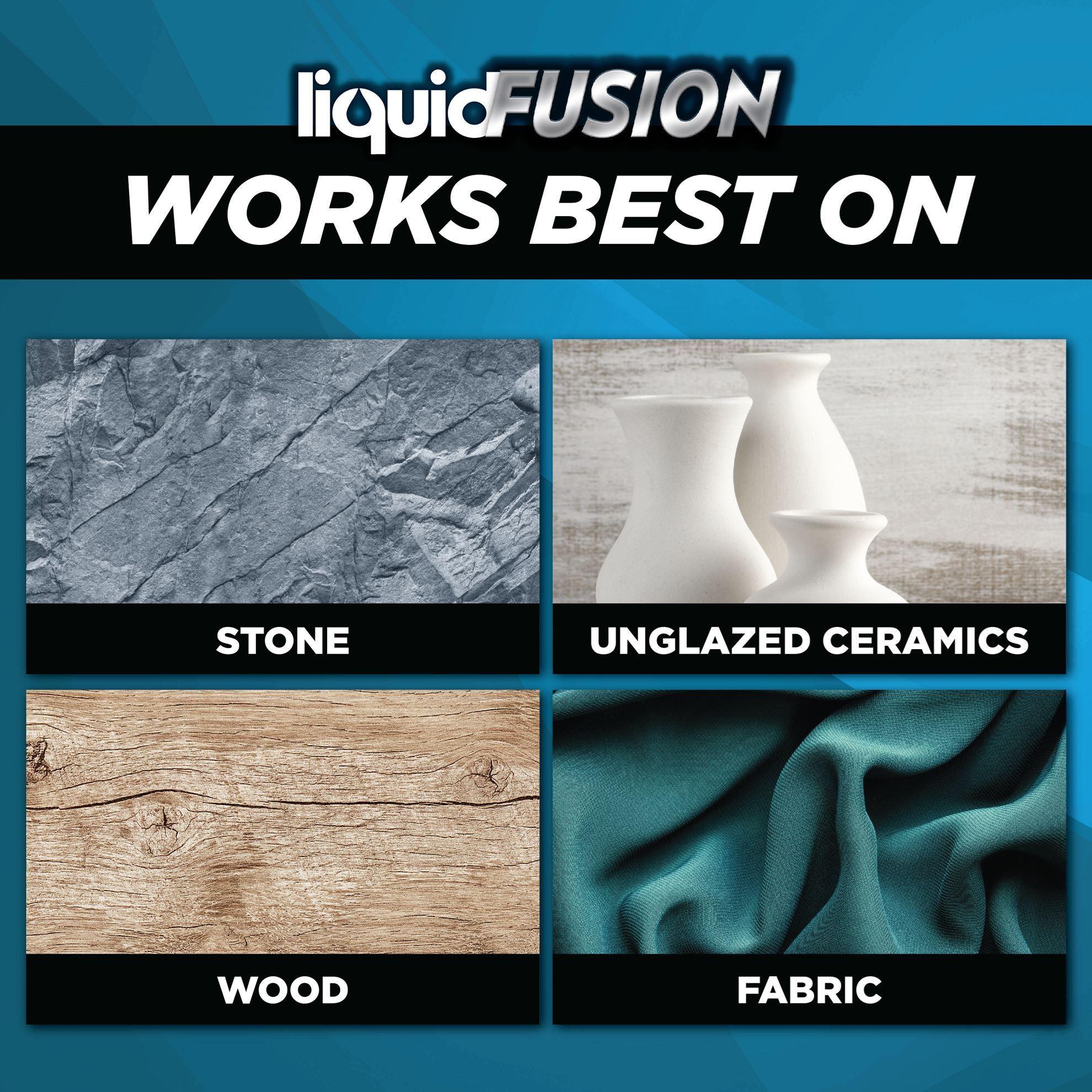 Liquid Fusion® 4 oz. Works best on