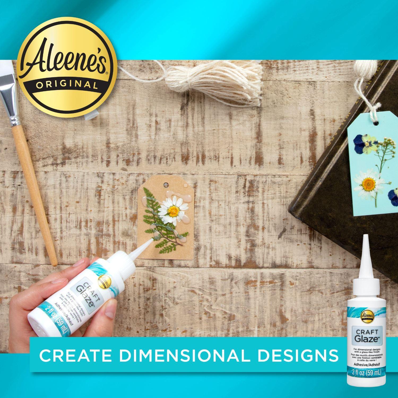 Aleene's® Craft Glaze Adhesive 2 fl. oz. Create Dimensional Design