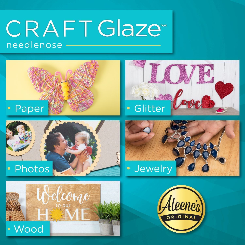Aleene's® Craft Glaze Adhesive 2 fl. oz. Project Ideas
