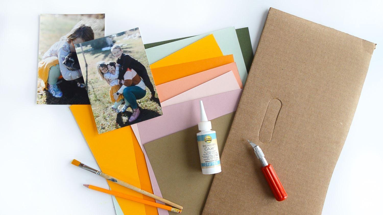 Paper flower frame supplies