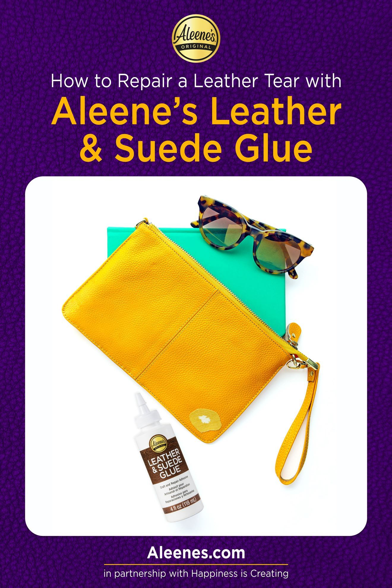 Picture of How To Repair a Leather Tear with Leather Glue