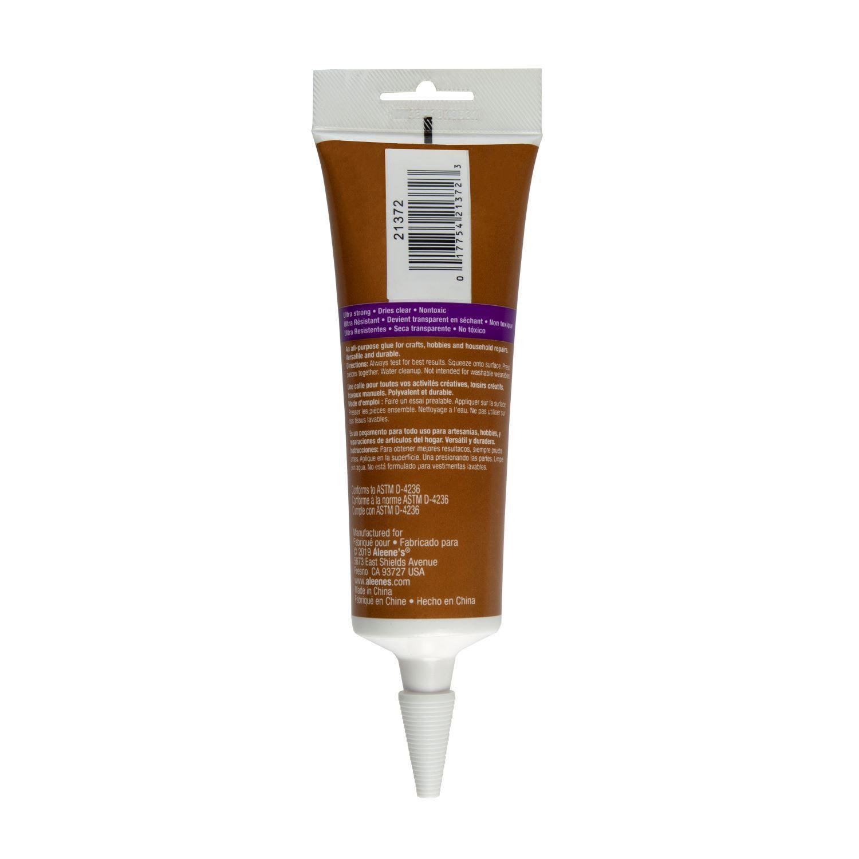 Aleene's® Original Tacky Glue® 3 oz. Tube Back