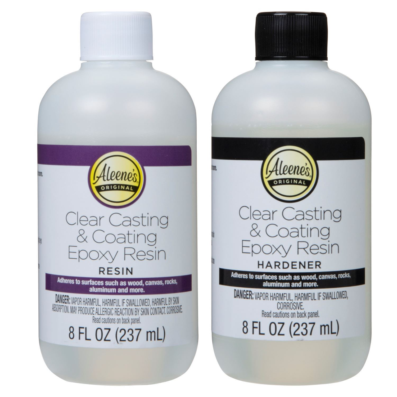 Clear Casting & Coating Epoxy Resin Kit contents